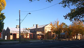 Beechworth - Beechworth historic precinct in Ford Street