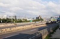 Beishan Bridge West Slope and Datong Road Section 1, Xizhi 20141120b.jpg