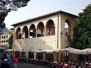 Belvedere (structure) - Belvedere in the town of Garda, Italy