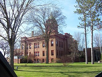 National Register of Historic Places listings in Beltrami County, Minnesota - Image: Bemidji Courthouse