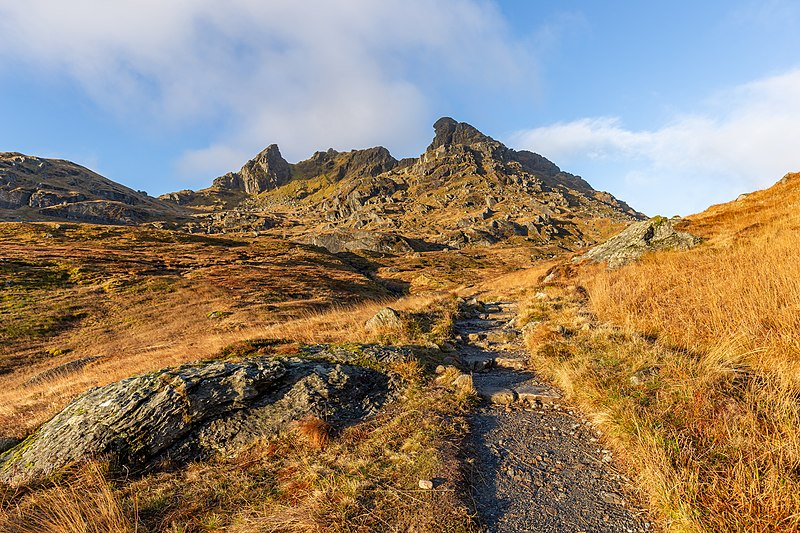 The Cobbler (mountainous land feature), photo by Ben Arthur, Arrochar Alps, Scotland