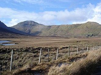 Twelve Bens - Benbaun from north of Lough Inagh