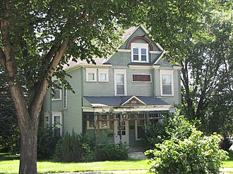 National Register of Historic Places listings in Brown County, Minnesota - Image: Bendixon Schmid House
