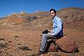 Benjamin Gillet en pleine réfexion dans l'Atlas Marocain ! (8404828093).jpg