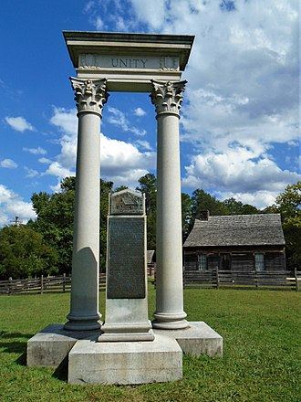 Bennett Place - Unity Monument at Bennett Place