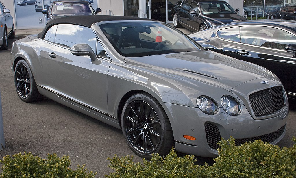 File:Bentley Continental SS conv.jpg - Wikimedia Commons
