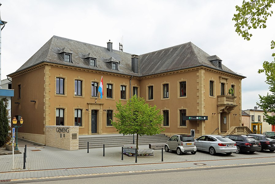 Berdorf (Grand Duchy of Luxemburg): town hall