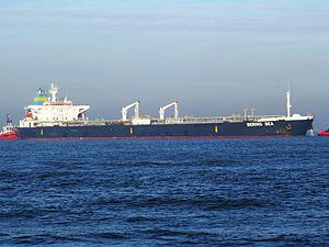 Bering Sea IMO 9085429 p3 approaching Port of Rotterdam, Holland 21-Dec-2007.jpg