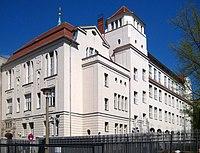 Berlin, Mitte, Grosse Hamburger Strasse 27, Juedische Oberschule.jpg