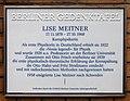 Berliner Gedenktafel Hessische Str 1 (Mitte) Lise Meitner.jpg