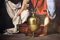 Bernardo strozzi, s. agostino lava i piedi a gesù pellegrino, 1625 ca. 04.JPG
