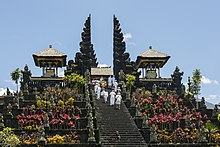 The Mother Temple of Besakih, one of Bali's most significant Hindu temples