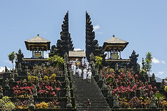 Pura Besakih - Pura Besakih, the holiest of all Balinese Hindu temple.