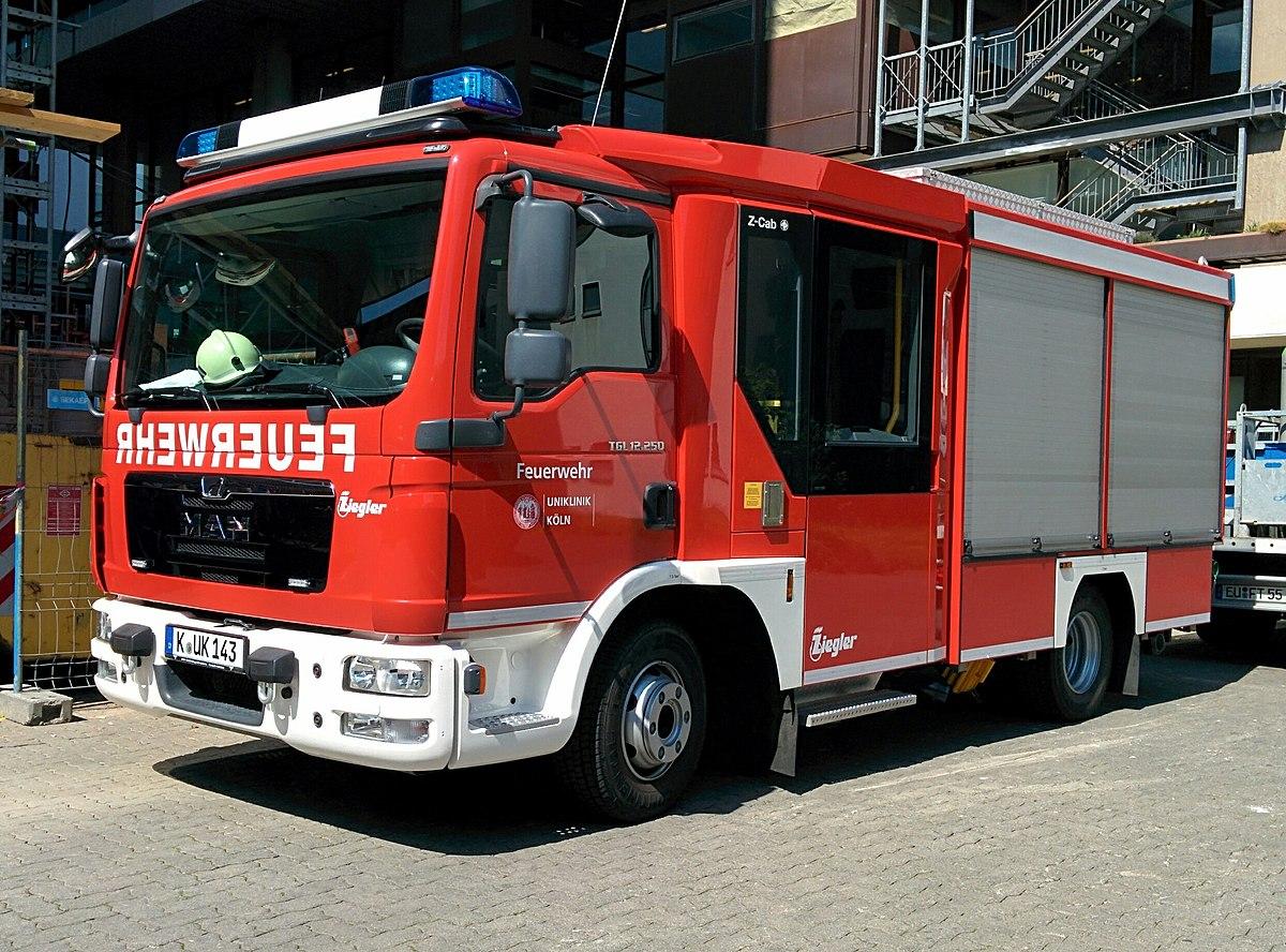 Feuerwehr Köln Fahrzeuge