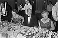 Bezoek vice president Hubert Humphrey, regeringsdiner, v.l.n.r mevrouw Luns , Hu, Bestanddeelnr 920-1894.jpg