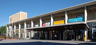 railway station in Bietigheim-Bissingen, Germany
