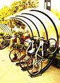 Bike Arc - Half Arcs - Baby Bike in Lytton Plaza.jpg