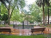 Jardines de albia wikipedia la enciclopedia libre for Hotel jardines de albia bilbao