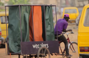 "Bilikiss Adebiyi Abiola - A Wecycler's tricycle – A ""Wecycle"""