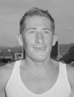 Bill Baillie New Zealand distance runner