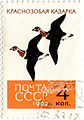 Bird Red-breasted Goose 1962 stamp.jpg