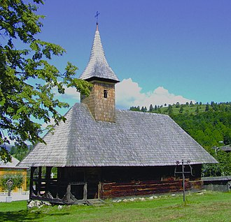 Borșa - Image: Biserica de lemn Borsa