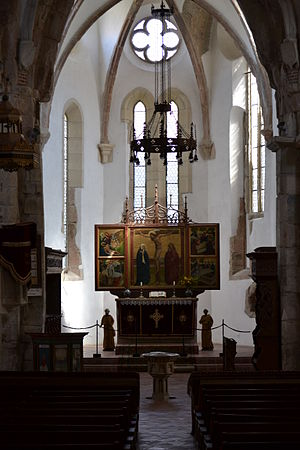Prejmer fortified church - Interior