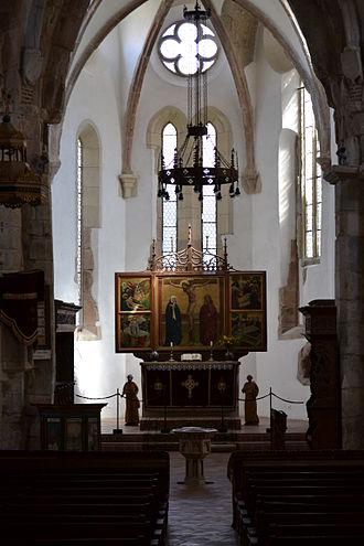 Prejmer fortified church - Interior
