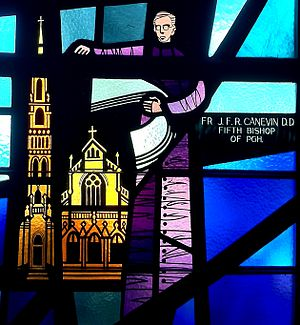 Regis Canevin - Image: Bishop Canevin Saint Patrick Church stained glass