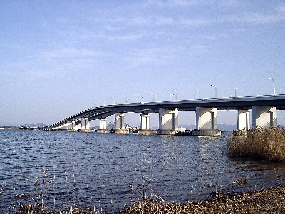 Biwako bridge1