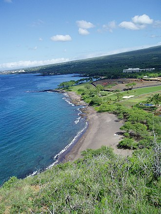 Makena State Park - Image: Black Beach Maui