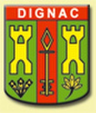 Dignac - Image: Blason dignac