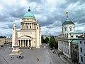 Blick auf die Nikolaikirche.JPG