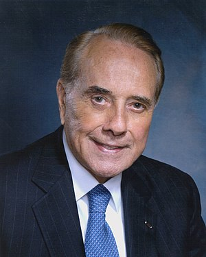 Bob Dole, photo portrait.