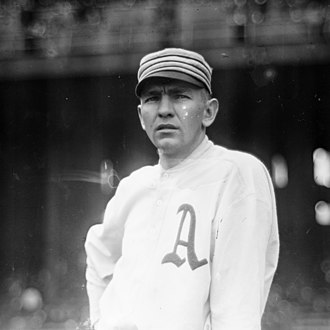Bob Shawkey - Image: Bob Shawkey, Philadelphia Athletics pitcher (cropped)