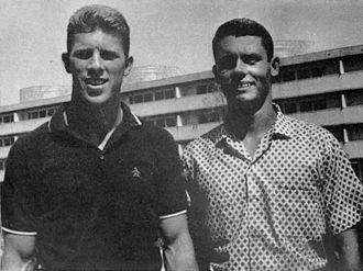 Diving at the 1960 Summer Olympics - Gary Tobian (left) and Bob Webster in 1960