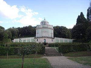 Zanobi del Rosso - Kaffeehaus in the Boboli Gardens, designed by Zanobi del Rosso.