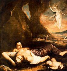 Allegoria della peste, di Pedro Atanasio Bocanegra, Museo Goya, Castres.