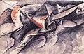 Boccioni - Cavallo +case, 1914.jpg