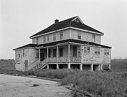 Bodie Island Lifesaving Station, Off Highway 12, Nags Head vicinity (Dare County, North Carolina).jpg