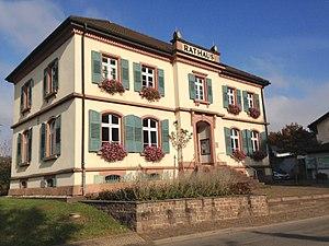 Bollschweil - The town hall of Bollschweil