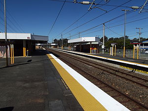 Boondall Railway Station, Queensland, July 2012.JPG