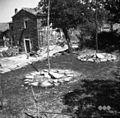 Boršt, kamnita podlaga za izdelavo kope sena 1950.jpg