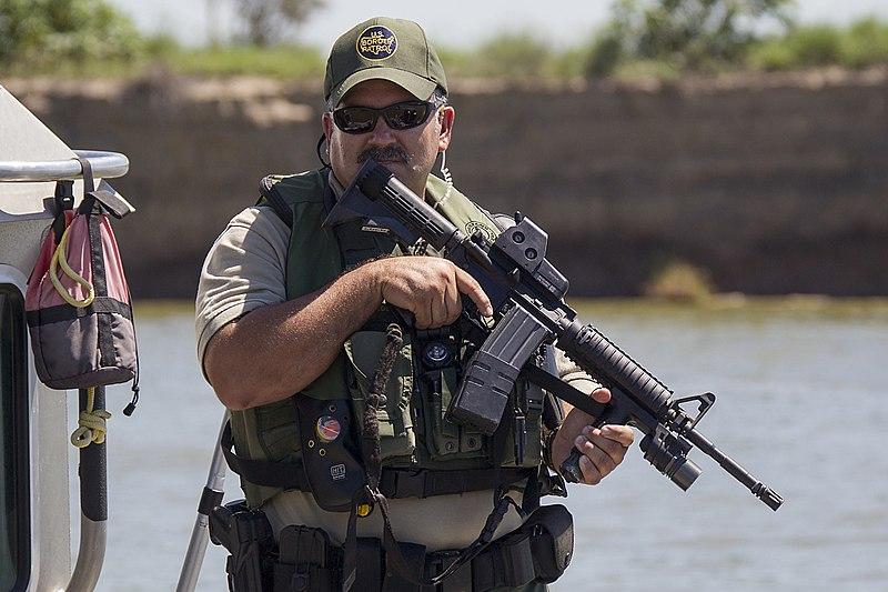 File:Border Patrol Safe Boat in South Texas McAllen, RGV (11935016783).jpg