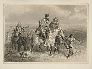 Border Ruffian 1850s pejorative for pro-slavery Missourian raiders within Kansas Territory