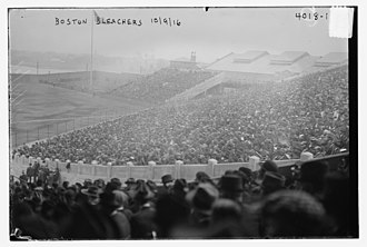 Braves Field - Braves Field during the 1916 World Series
