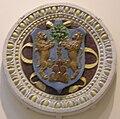 Bottega della robbia, stemma becchi-fibbiai, 1475-1525 circa.JPG