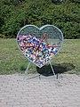 Bottlecap Heart, Liszt Ferenc Promenade, 2020 Százhalombatta.jpg