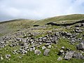 Boulder field on the hillside below Bwich y Rhiwgyr - geograph.org.uk - 532183.jpg
