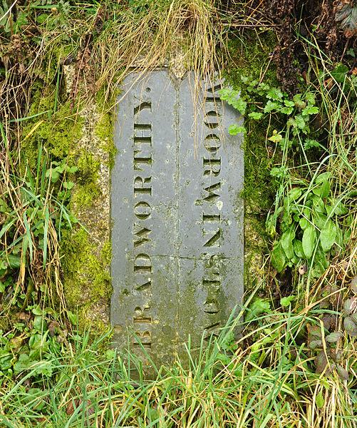 File:Boundary Stone on Woolley Moor.jpg